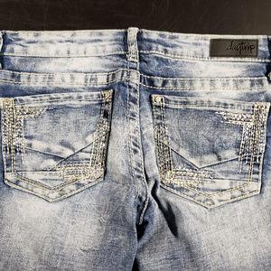 Daytrip size 27R stonewashed Leo bootcut jeans